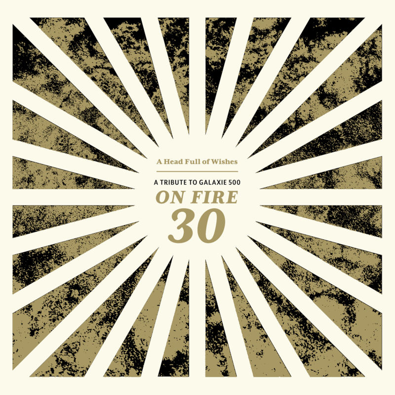 On Fire 30 CD sleeve (design: John Conley)