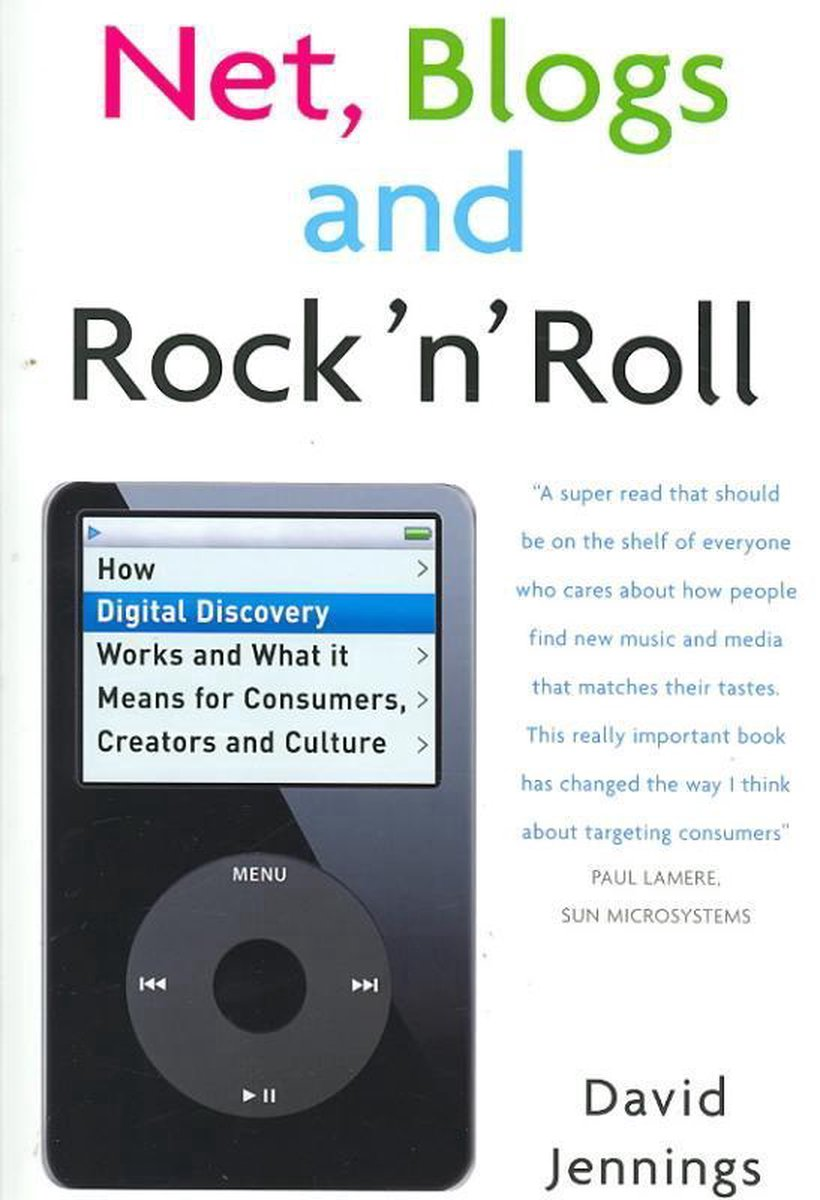 cover of the book Net, Blogs and Rock 'n' Roll