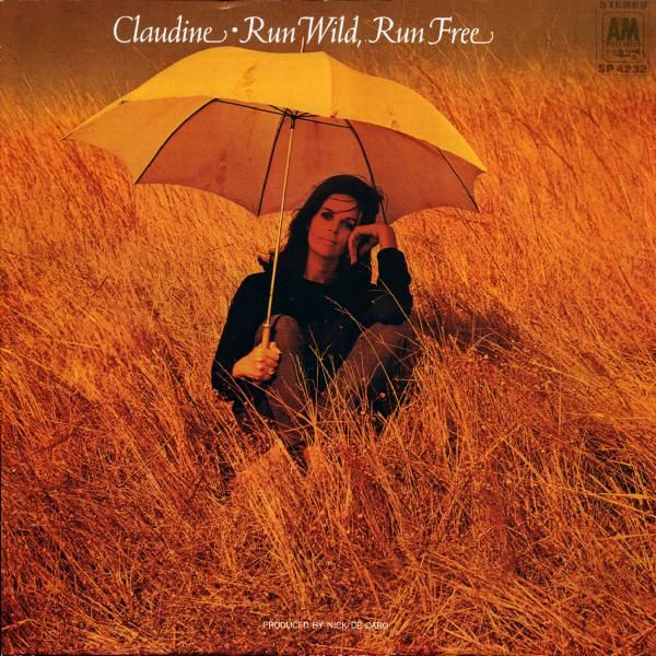 The sleeve of Claudine Longet's Run Wild, Run Free LP