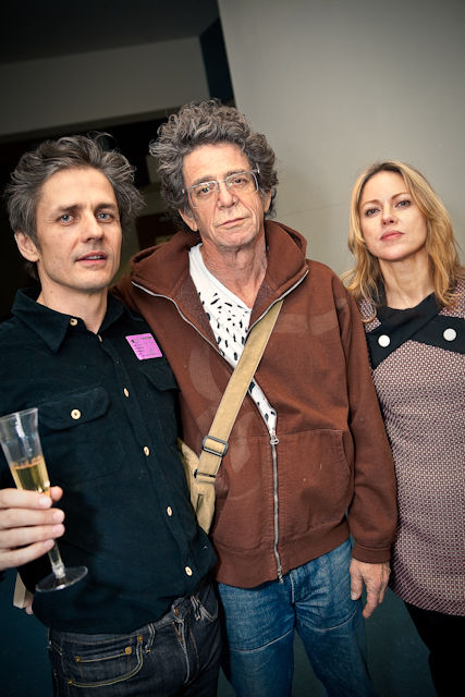 Dean Wareham and Britta Phillips with Lou Reed