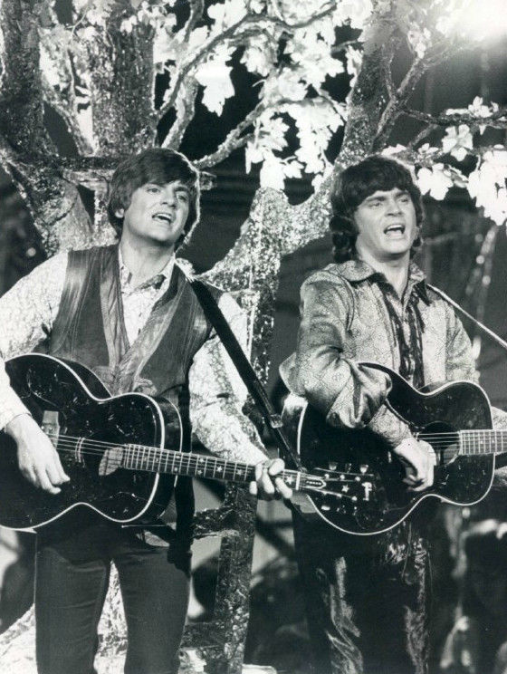 The Everly Brothers in 1970