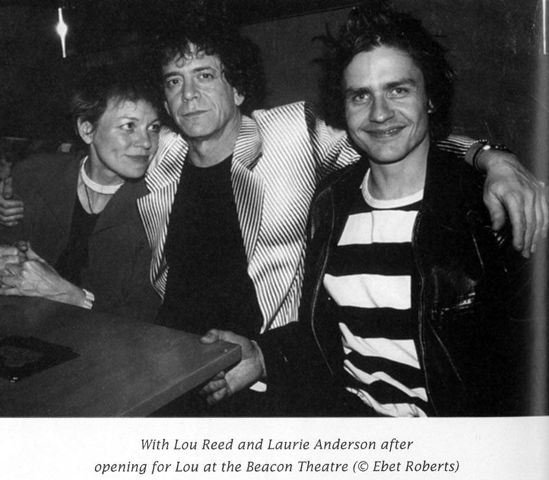 Laurie Anderson, Lou Reed and Dean Wareham