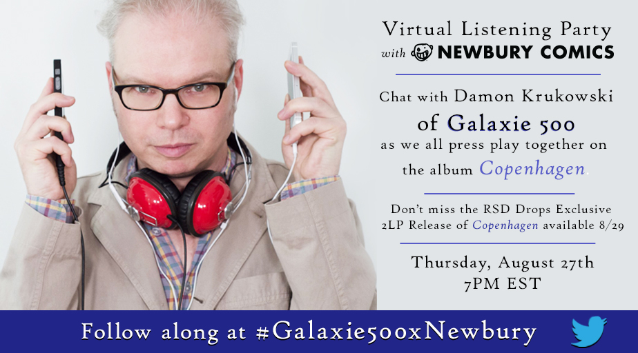 Galaxie 500 - Copenhagen Twitter listening party
