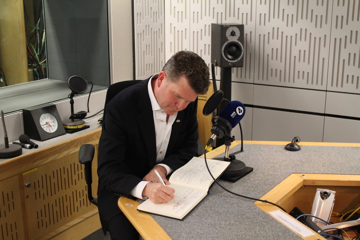 Matthew Barzun on Desert Island Discs (Photo: BBC)