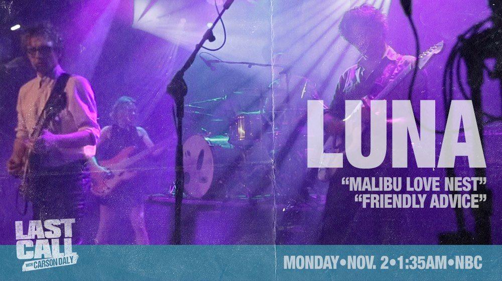 Luna on Carson Daly