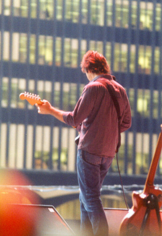 Sean Eden of Luna at the WTC - 1st August 2001