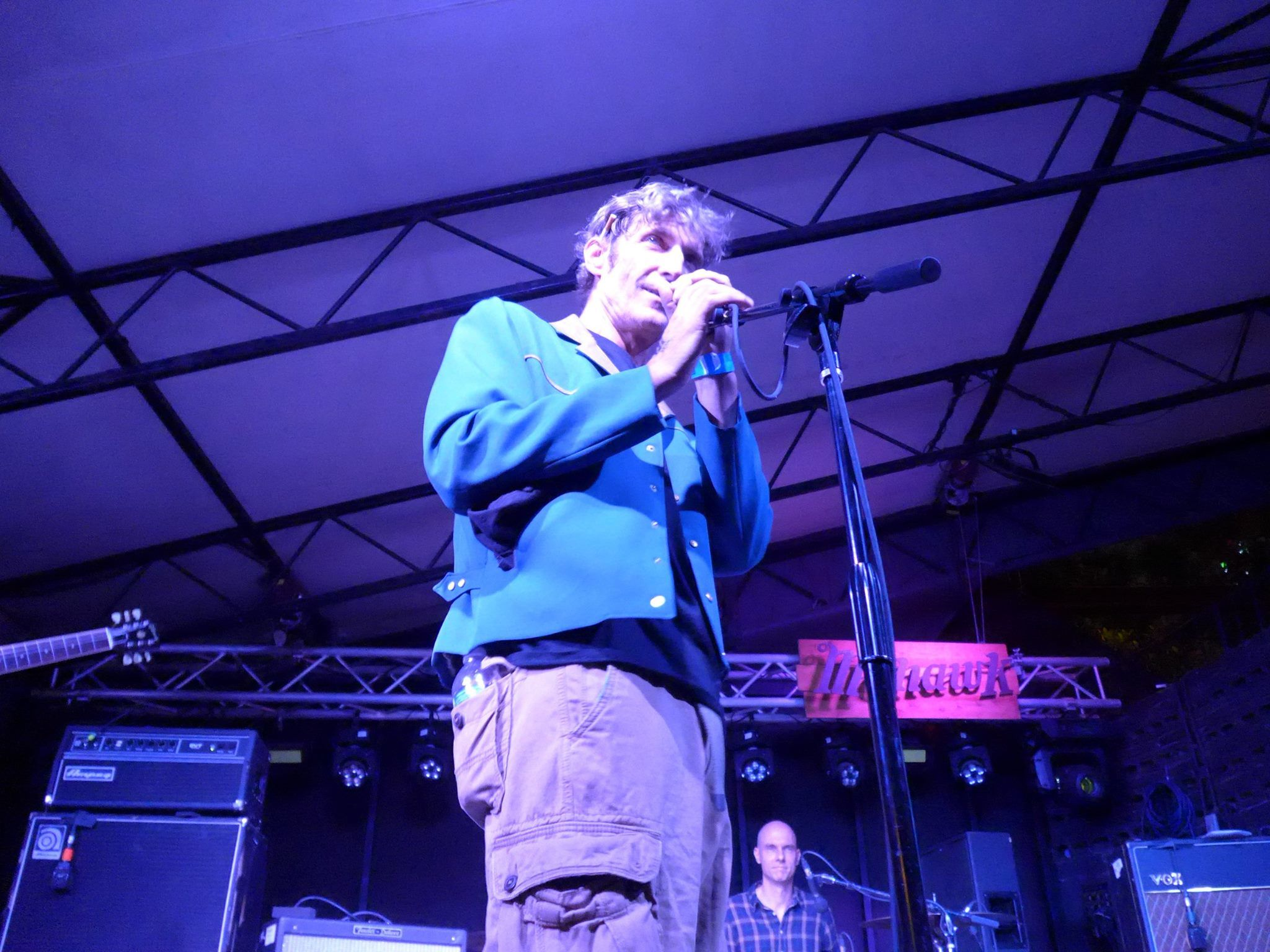 Terry Tolkin introducing Luna in Austin (Photo: Joakim)