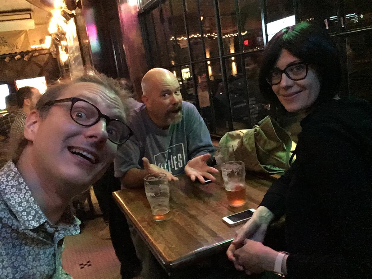 Joakim, Mike and Ulrika (Photo: Joakim)