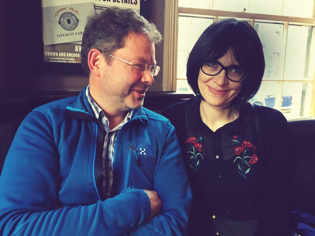 Bengt and Ulrika (photo: Joakim)