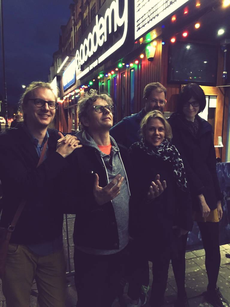 Joakim, Dean, Britta, Bengt and Ulrika in Oxford (photo: Joakim)
