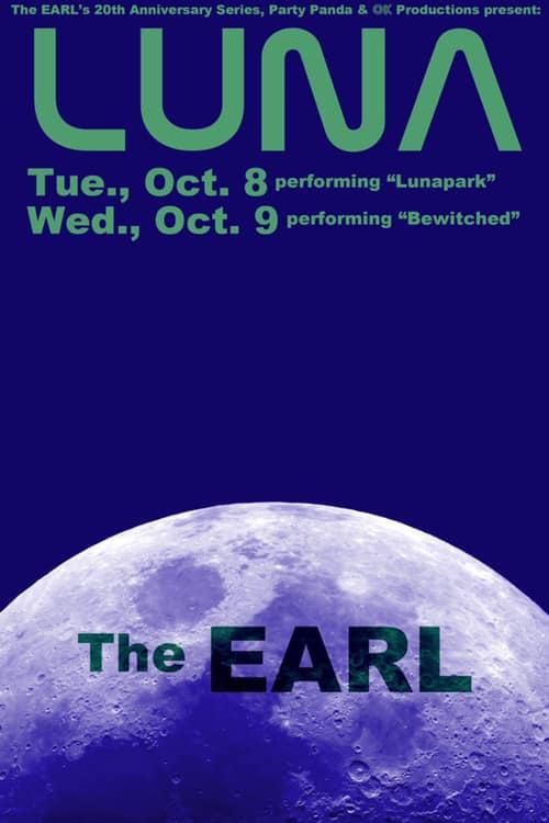 Poster for 8 October 2019 at The Earl, Atlanta, GA, USA