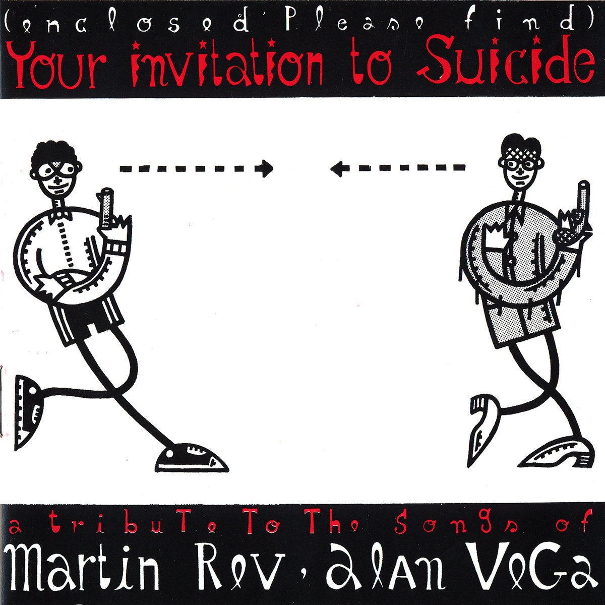 Your Invitation To Suicide: A Tribute To The Songs Of Martin Rev, Alan Vega sleeve image