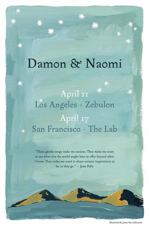 Poster for 17 April 2019 at The Lab, San Francisco, CA, USA