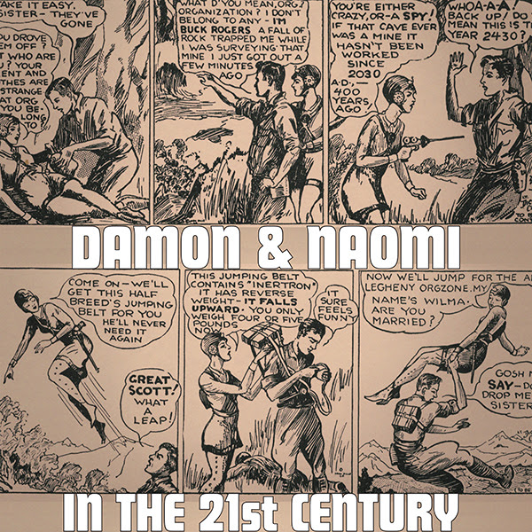 Damon & Naomi in The 21st Century sleeve image