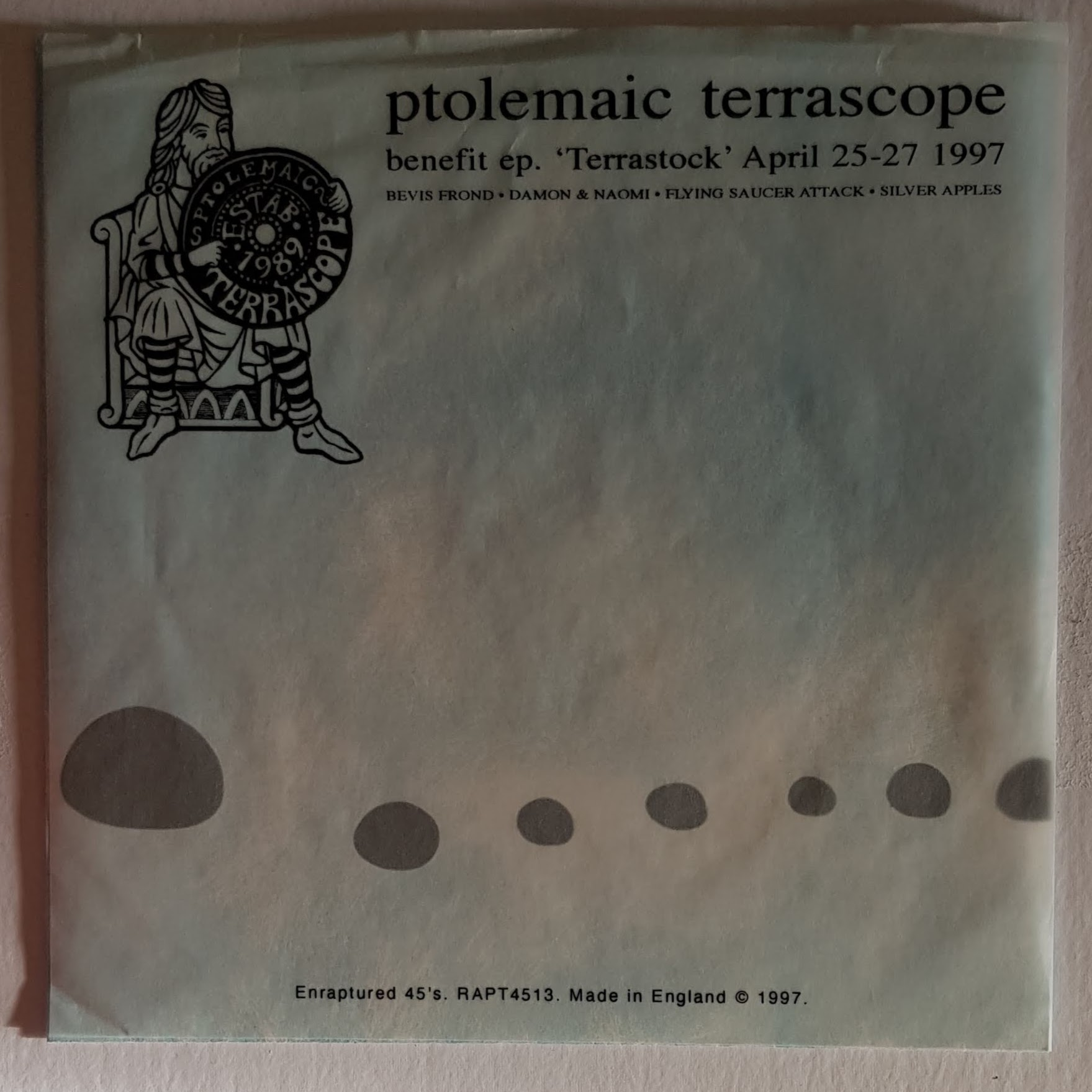 Ptolemaic Terrascope benefit EP (Enraptured, 1997)