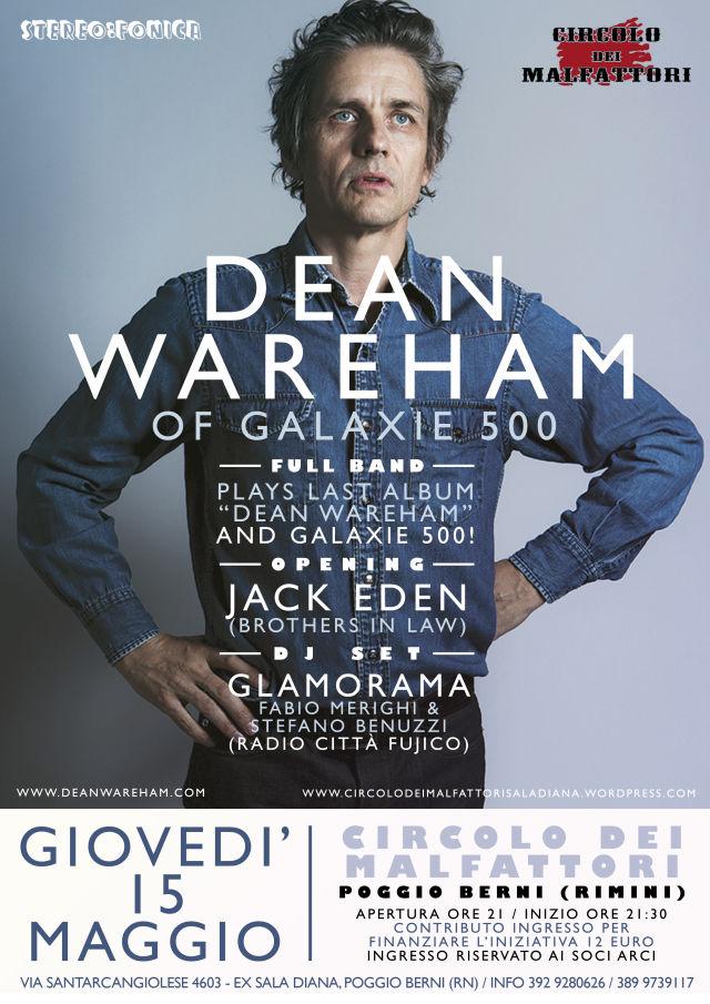 Poster for 15 May 2014 at Circolo dei Malfattori, Poggio Berni, Italy