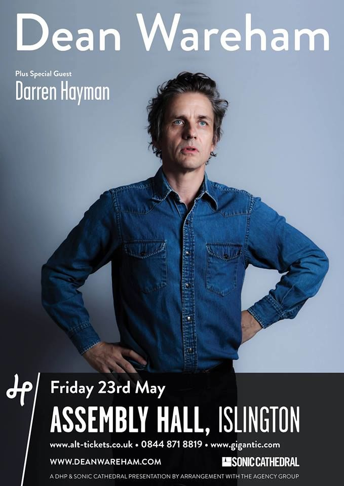 Poster for 23 May 2014 at Islington Assembly Hall, London, UK