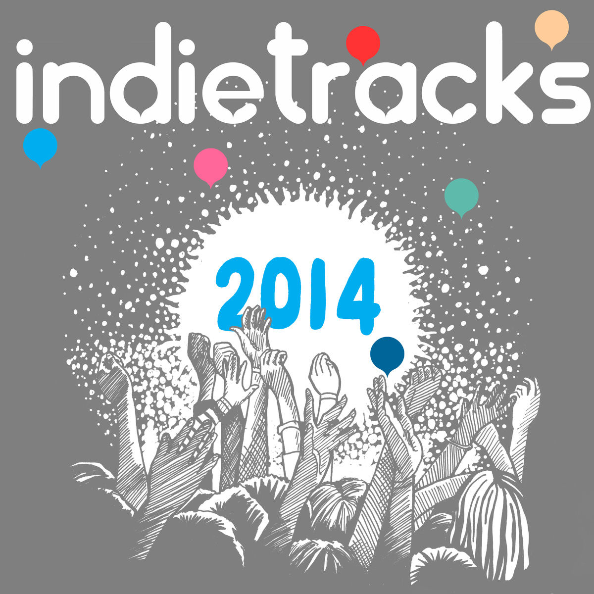 Poster for 26 July 2014 at Indietracks Festival, Derbyshire, UK