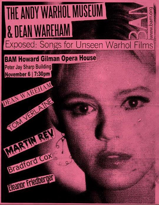Poster for 6 November 2014 at  BAM Howard Gilman Opera House, New York, NY, USA