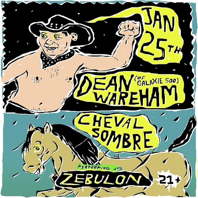 Poster for 25 January 2019 at Zebulon, Los Angeles, CA, USA
