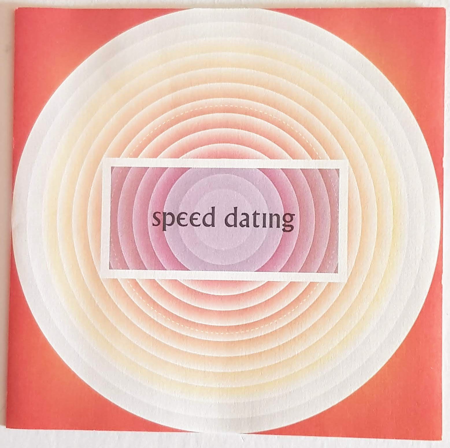 Speed Dating sleeve image