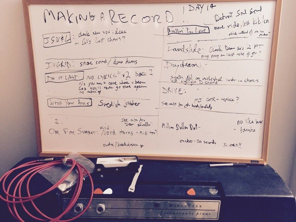 Britta Phillips - Making a record