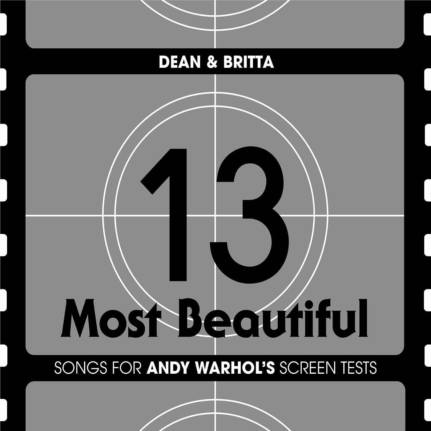 13 Most Beautiful: Songs for Andy Warhol's Screen Tests sleeve image