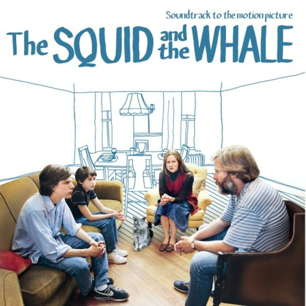 The Squid and the Whale: Soundtrack to the Motion Picture sleeve image