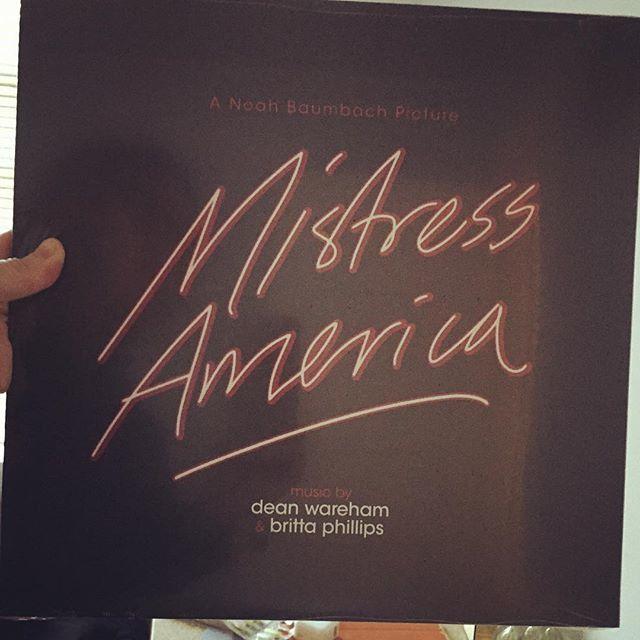 Mistress America vinyl (Photo: Britta)
