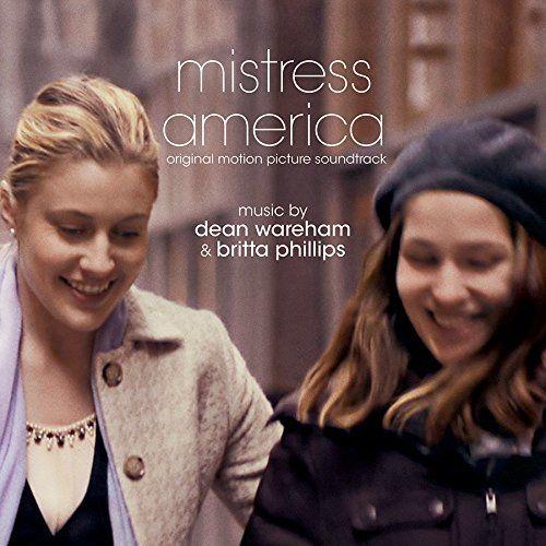 Mistress America: Original Motion Picture Soundtrack sleeve image
