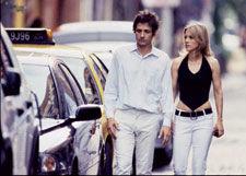 Dean & Britta near their home in Manhattan's East Village in 2006. (Photo: Michael Lavine)